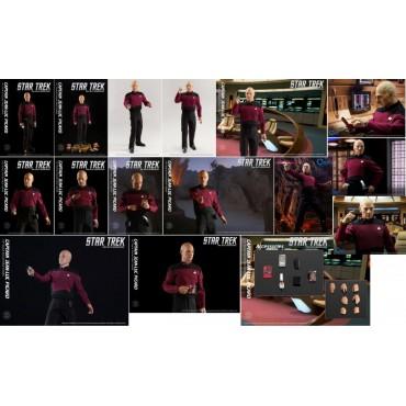 Star Trek - Star Trek the Next Generation TV Series - Captain Jean-Luc Picard Kirk - 1:6 Scale - Action Figure
