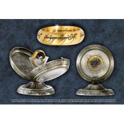Lord Of The Rings - Il Signore degli Anelli - The One Ring - Gold - Display Stand - NN1315