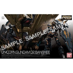 RG Real Grade - 27 Unicorn Gundam 02 Banshee NORN - Full Psycho-Frame Prototype Mobile Suit RX-O[N] - 1/144