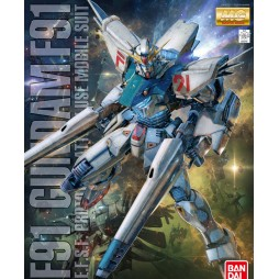 MG Master Grade - Gundam Seed - E.F.S.F. Prototype Attack Use Mobile Suit Gundam F-91 2.0 1/100