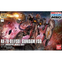 HG Gundam The Origin 021 - RX-78-01 [FSD] GUNDAM FSD E.F.F.PROTOTYPE MOBILE SUIT 1/144