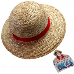 One Piece - Cappello - Rufy Monkey D. Luffy - Cappello di Paglia - Cappello Ufficiale Cosplay