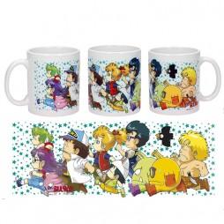 Dr Slump & Arale Chan - Tazza - Mug Cup - Running Characters