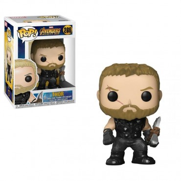 POP! Marvel 286 The Avengers Infinity War Thor with Stormbreaker Vinyl Bobble-Head Figure