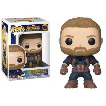 POP! Marvel 288 The Avengers Infinity War Captain America - Vinyl Bobble-Head Figure