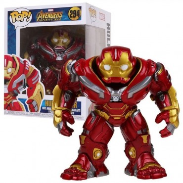 POP! Marvel 294 The Avengers Infinity War Hulkbuster - 6-inch Vinyl Bobble-Head Figure