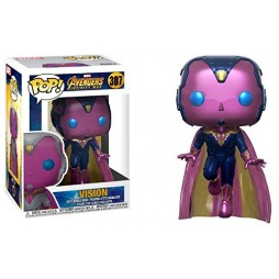 POP! Marvel 307 The Avengers Infinity War VISION - Hot Topic Exclusive Limited Edition Vinyl Bobble-Head Figure