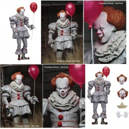Stephen King\'s IT THE MOVIE 2017 - Neca Ultimate Pennywise - 18 cm Action Figure