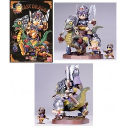 Doctor Slump & Arale Chan - Illustration Diorama - Plastic Kit - Fantasy Dragon - Scala 1:100