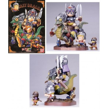 Doctor Slump & Arale Chan - Illustration Diorama - Plastic Kit - Fantasy Dragon - Scala 1:100