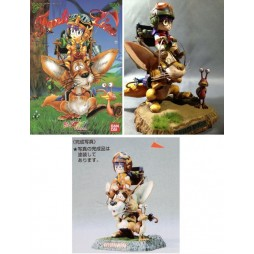 Doctor Slump & Arale Chan - Illustration Diorama - Plastic Kit - Fantasy Lion - Scala 1:100