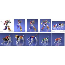 Beast King GoLion - Voltron: Defender of the Universe - Super Minipla - Plastic Model Kit - Bandai