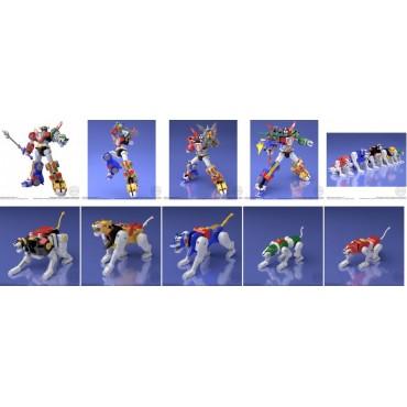Beast King GoLion - Voltron: Defender of the Universe - Super Minipla - Plastic Model Kit - Bandai