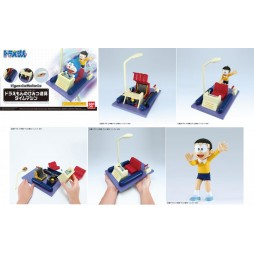 Doraemon - Figure Rise Mechanics - Plastic Model Kit - Time Machine Secret Gadget Of Doraemon + Nobita