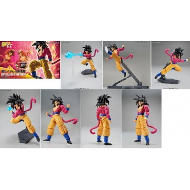 Dragon Ball Z - Figure Rise Standard - Plastic Model Kit - Super Saiyan 4 Son Gokou