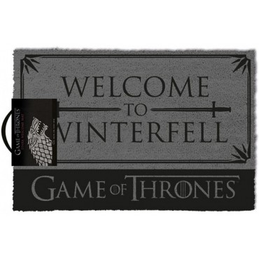 Game Of Thrones - Il Trono di Spade - Doormat - Zerbino - Welcome To Winterfell - Pyramid