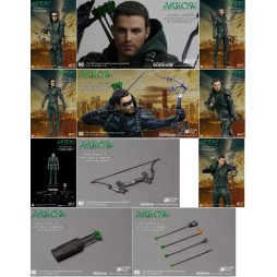 Arrow TV Series - 1/8 Scale - Arrow Hoodied - DLX Ver. Action Figure - Star Ace
