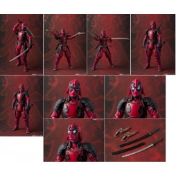 Bandai Meisho - Manga Realization - Marvel Comics - Kabukimono Deadpool - Action Figure