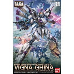 Gundam RE/100 009 - Crossbone Vanguard Prototype MS for Commander / MS XM-07 MOBILE SUIT VIGNA-GHINA 1/100