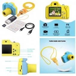 Macchina Fotografica per Bambini, Mini Fotocamera Digitale Portatile - Digital Camera For Kids - Samoleus - 1:1 Fully Fu