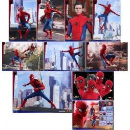 Spider-Man Homecoming Movie Masterpiece Action Figure 1/6 - Regular Suit Spider-Man Hot Toys