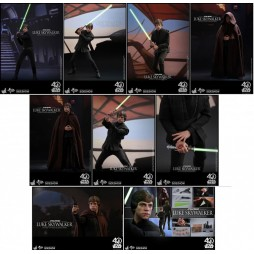 Star Wars Movie Masterpiece Action Figure 1/6 Episode VI Return Of The Jedi Luke Skywalker Deluxe Version