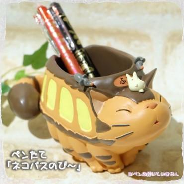 Il Mio Vicino Totoro - My Neighbour Totoro - Catbus Nekobus - Pen Holder - Portapenne Gattobus