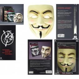 V for Vendetta - Book and 1:1 Mask Set (Inglese) - Copertina flessibile