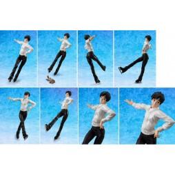 Yuri!!! on Ice - Megahouse GEM STATUE - 1/8 Scale - Katsuki & Makkachin