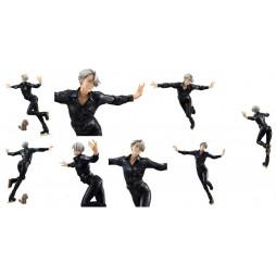 Yuri!!! on Ice - Megahouse GEM STATUE - 1/8 Scale - Victor Nikiforov & Makkachin