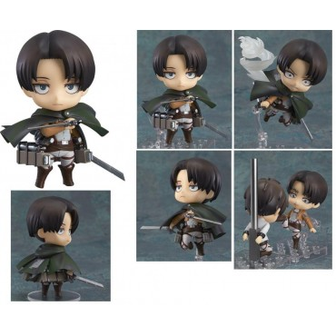 Nendoroid - 390 - Attack on Titan - L\'Attacco dei Giganti - Action Figure Levi Rivalle Ackerman