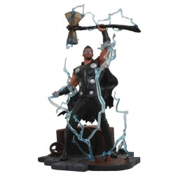 Marvel Comics - Avengers Infinity War - Marvel Gallery Figure - PVC Statue - Thor with Stormbreaker