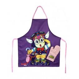 Dr. Slump & Arale Chan - Set Cucina - Roller Arale Chan Grembiule e Guanto Forno - Apron & Oven Glove