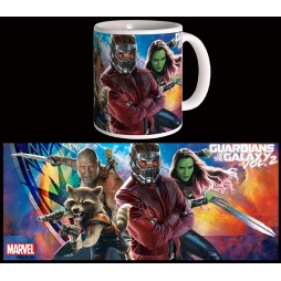 Marvel Comics - Guardians Of The Galaxy 2 Movie - Tazza - Mug Cup - Full Cast - Semic