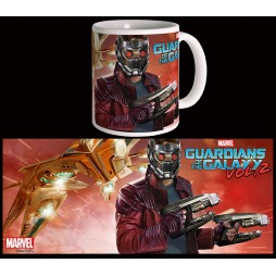 Marvel Comics - Guardians Of The Galaxy 2 Movie - Tazza - Mug Cup - Star Lord - Semic