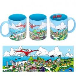 Dr Slump & Arale Chan - Tazza - Mug Cup - Penguin Village - Ceramic Mug