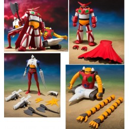 Getter Robot - S1 - Super Minipla - Plastic Model Kit - Complete Set of 3 - Bandai
