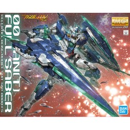 MG Master Grade - Double 0 - 00 QANT[T] FULL SABER - CELESTIAL BEING MOBILE SUIT GNT-0000/FS 1/100