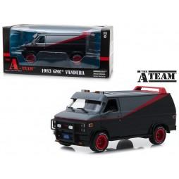 A-Team TV-Series - 1983 GMC Vandura Truck - 1/24 Scale Die Cast Vehicle Replica - Furgone serie TV A-Team