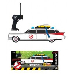 Ghostbusters - Acchiappafantasmi - 1/16 scale - Radio Controlled Ecto 1 Replica Light and Sound - Ecto 1 Radiocomandata
