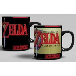 Video Games - Super Nintendo - Tazza - Mug Cup - Heat Change - The Legend Of Zelda A Link To The Past (Cambia Immagine C