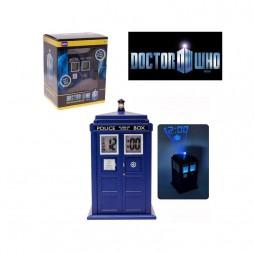 Doctor Who - Sveglia - Proiezione Luminoso Orologio - Tardis