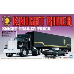 Knight Rider - Supercar - Movie Mechanical No.02 - Knight Industries Trailer Truck Season 1 1/28 Scale