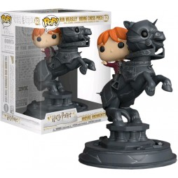 POP! Harry Potter 82 Movie Moments Ron Weasley Riding Chess Piece Vinyl Figure