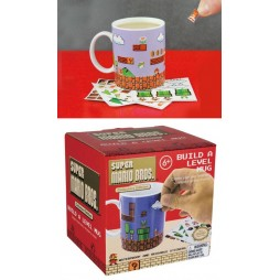 Video Games - Super Mario - Tazza - Mug Cup - Build A-Level