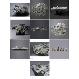 Star Wars - PG - Perfect Grade - Ep. IV A New Hope Millennium Falcon Ver. - Revell/Bandai - Model Kit 1/72