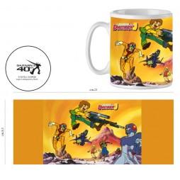 Daitarn III - Muteki kojin Daitan 3 - Tazza - Mug - Cup - Dairarn 3 Cast Fight Ceramic