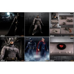 Mezco Toys - One Twelve Collective - DC Comics - Batman Vs Superman D.O.J. - Batman - Action Figure - Cloth Version Scal