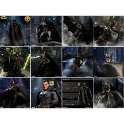 Mezco Toys - One Twelve Collective - DC Comics - Batman: Ascending Knight - Batman - Action Figure - Cloth Version Scala
