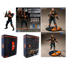 Mezco Toys - One Twelve Collective - DC Comics - Deathstroke - Action Figure - Cloth Version Scala 1:12
